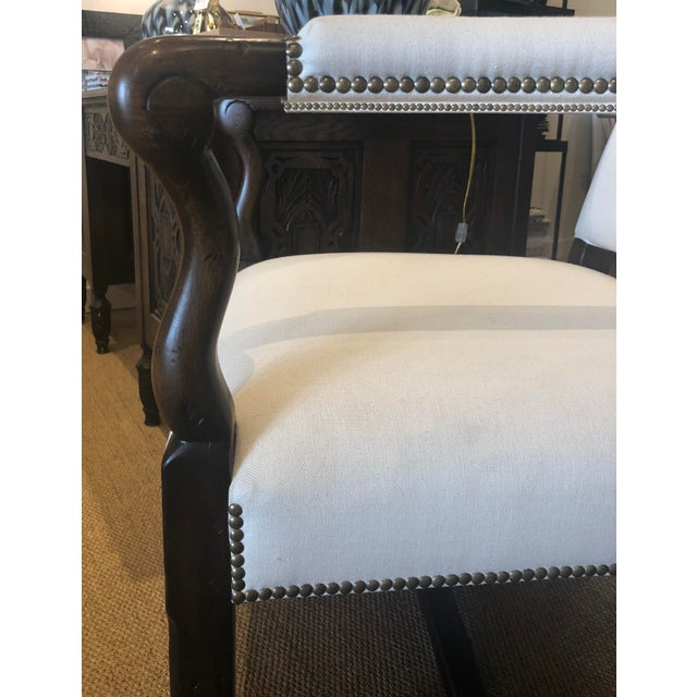 Mediterranean Alfonso Marina Rennes II Chairs - A Pair For Sale - Image 3 of 5