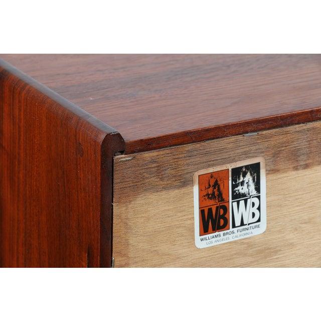 William Bros Furniture Solid Walnut Dresser - Image 11 of 11