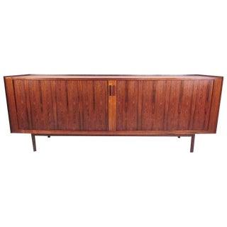 Ib Kofod-Larsen Danish Rosewood Tambour Sideboard For Sale