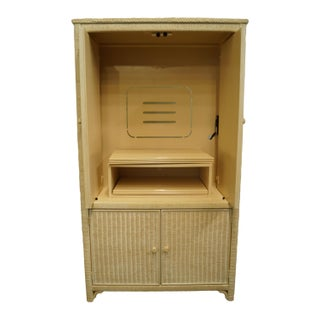 Late 20th Century Lexington / Henry Link Furniture Cream Television Media Armoire Preview