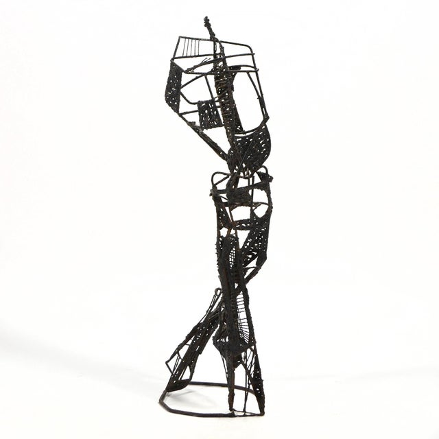 Abstract Abstract Figure Sculpture For Sale - Image 3 of 7