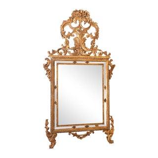 18th Century Italian Rococo Pier Mirror