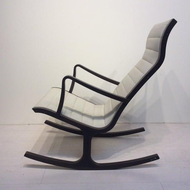 Mitsumasa Sugasawa for Tendo Mokko Mid-Century Modern Heron Rocking Chair For Sale - Image 10 of 10