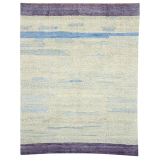 Contemporary Postmodern Style Moroccan Rug - 10′4″ × 13′1″ For Sale