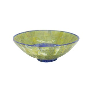 Lapis Lazuli and Jade Bowl For Sale