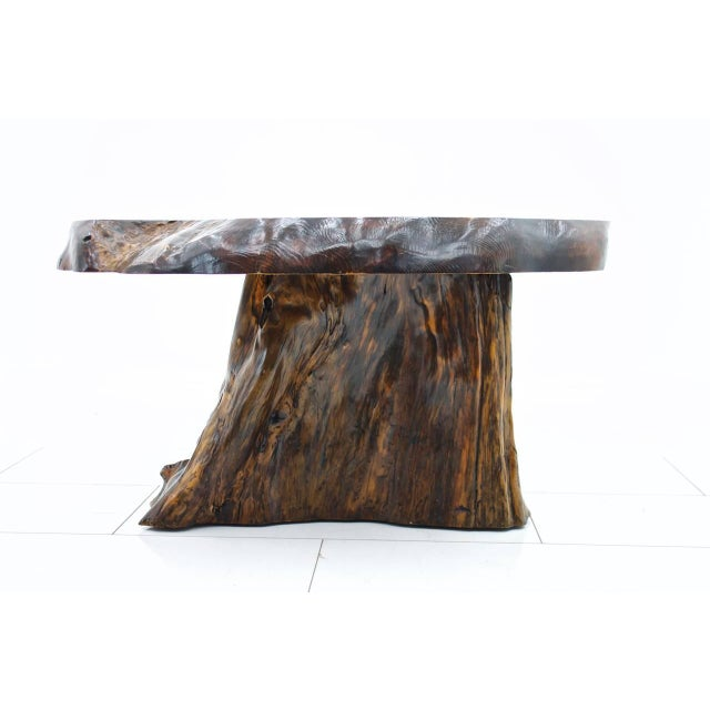 1960s Solid Root Wood Coffee Table, 1960s For Sale - Image 5 of 10