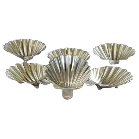 Mexican Sterling Shell Dishes - Set of 6 - Image 1 of 4