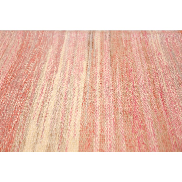 Vintage Scandinavian Art Deco Flat Carpet - 7′3″ × 10′8″ For Sale In New York - Image 6 of 10