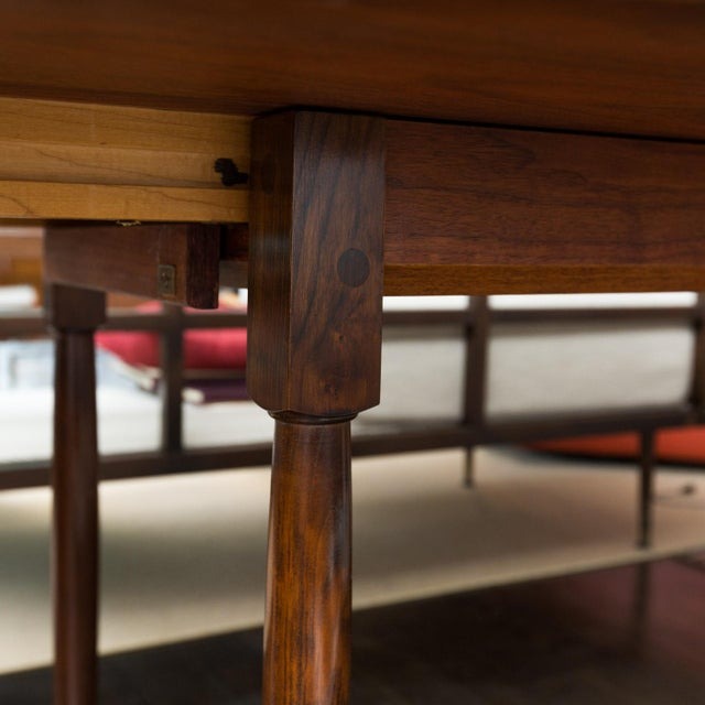 1963 Vintage Rosewood Dining Table - Image 3 of 6