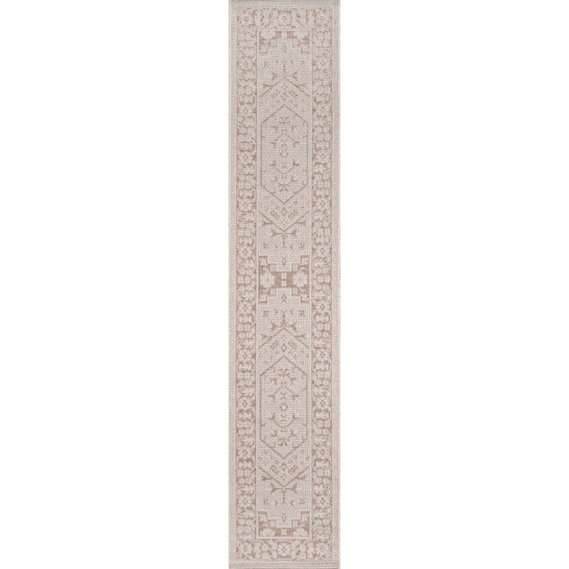 "Erin Gates Downeast Brunswick Beige Machine Made Polypropylene Area Rug 6'7"" X 9'6"" For Sale - Image 9 of 10"