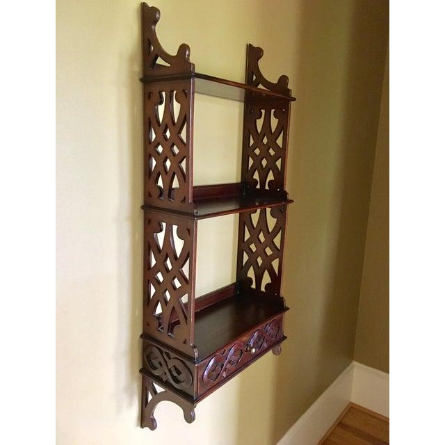 Wood Wall Shelf Storage For Sale - Image 7 of 7