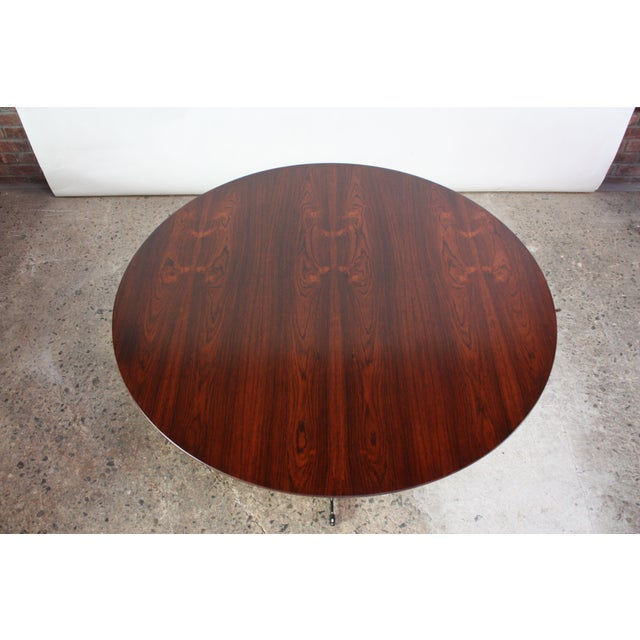 Six-Star Series Rosewood Table by Arne Jacobsen for Fritz Hansen - Image 2 of 10
