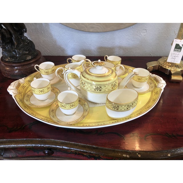 Bailey Banks Includes and Biddle Tea Set For Sale - Image 11 of 11