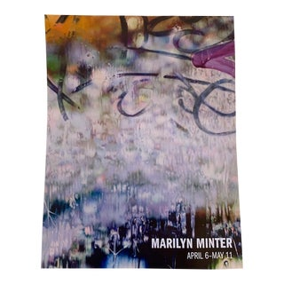 Marilyn Minter 2013 Gallery Exhibit Poster For Sale