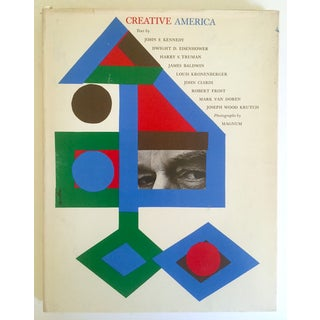 """Vintage 1962 """"Creative America"""" Mid Century Modern Collector Cultural Arts Book Preview"""