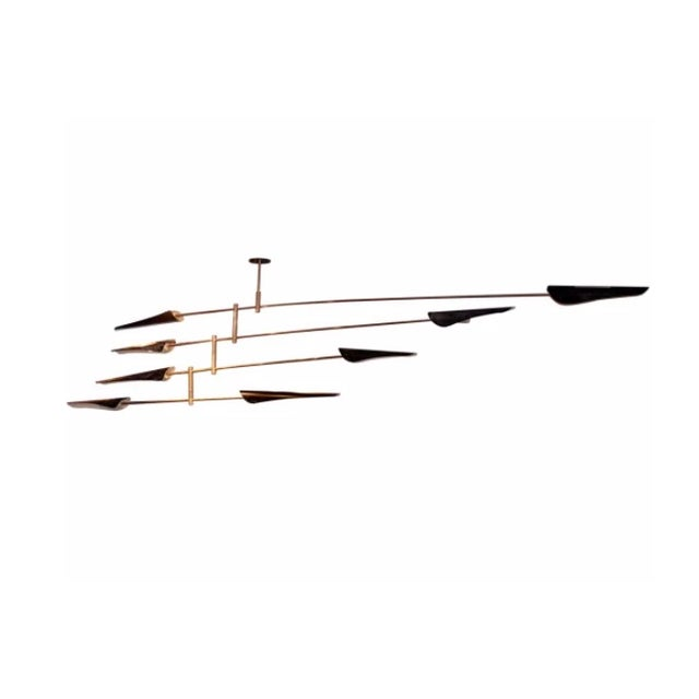 """Contemporary """"Saru"""" Four Tier Chandelier by David Weeks Mobiles For Sale - Image 3 of 3"""