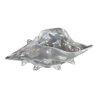 Lizio Zanetti Opalescent Glass Shell For Sale