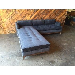 Mid-Century Style Custom Reversible Sofa Chaise Lounge Preview