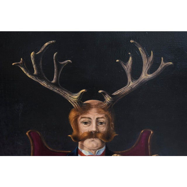 Surrealist Painting by Robert Springfels For Sale In Miami - Image 6 of 10