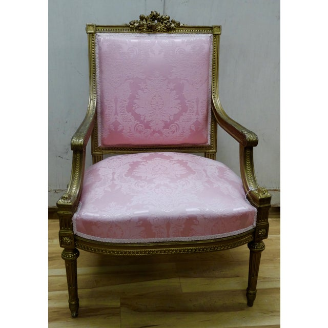 French Louis XVI Arm Chair - Image 2 of 4