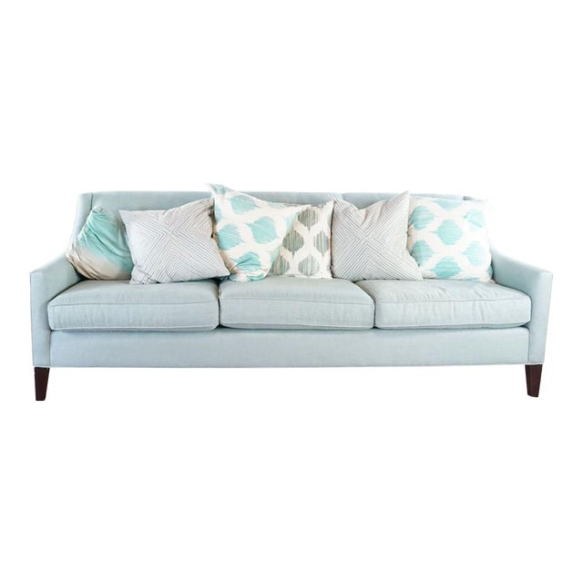 Mitchell Gold + Bob Williams Upholstered Sofa For Sale