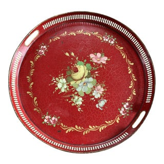 19th Century French Tole Tray For Sale