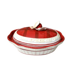 Casserole Town & Country Pattern Dish For Sale