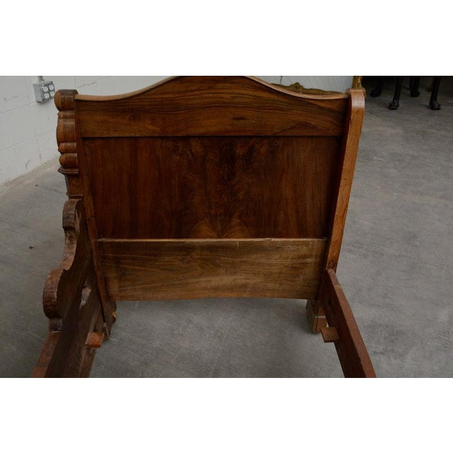 Early 19th Century Early 19th Century French Provincial Walnut Daybed Frame For Sale - Image 5 of 12