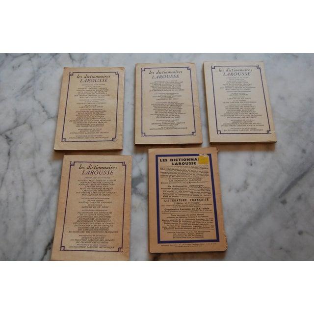 Classiques Larousse Purple Books - Set of 5 For Sale - Image 4 of 7
