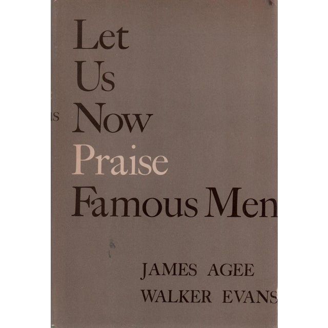 """1960 """"Let Us Now Praise Famous Men"""" Collectible Book For Sale In Atlanta - Image 6 of 6"""