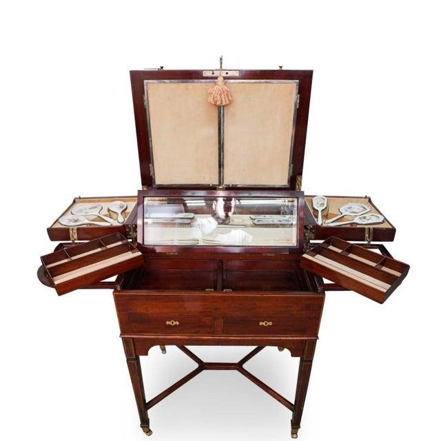 Metal George Betjeman & Sons Dressing Vanity Table For Sale - Image 7 of 13