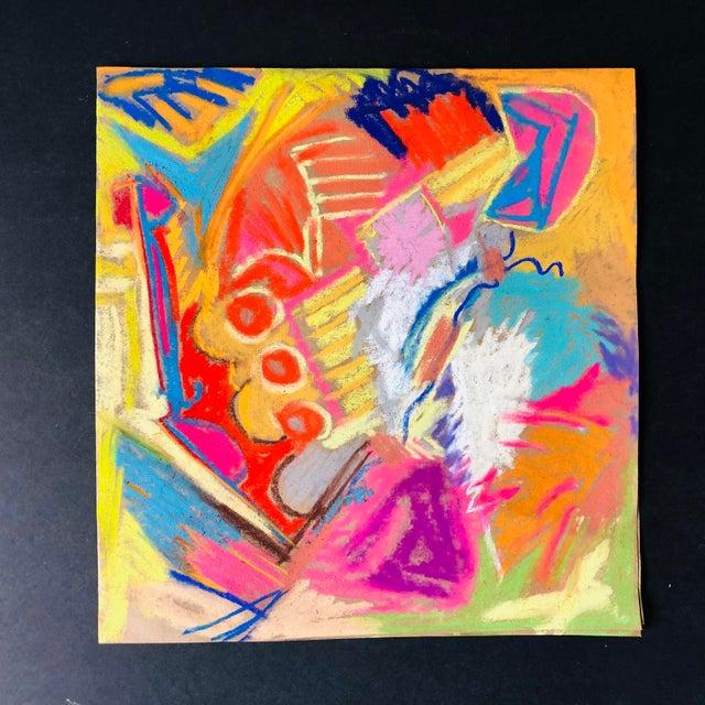 Erik Sulander Abstract No. 101, Original Pastel by Erik Sulander For Sale - Image 4 of 4