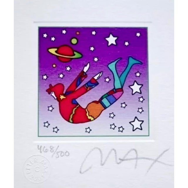 Peter Max Cosmic Flyer in Space 2003 For Sale