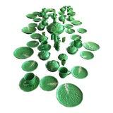 Image of Italian Green Leaf Paste Ware