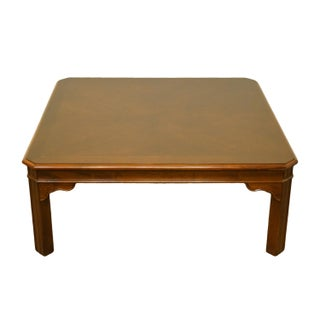 """20th Century Traditional Drexel Heritage Carleton Cherry Collection 40"""" Square Coffee Table Preview"""