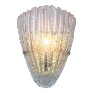 Single Murano Sconce, 1960s For Sale