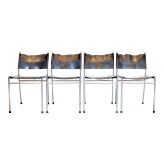 Martin Visser 'Se06' Dining Chairs- Set of 4 For Sale