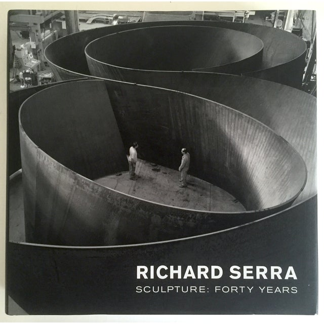 """This """" Richard Serra Sculpture : Forty Years """" rare MOMA exhibition first edition hardcover art book is an incredibly..."""