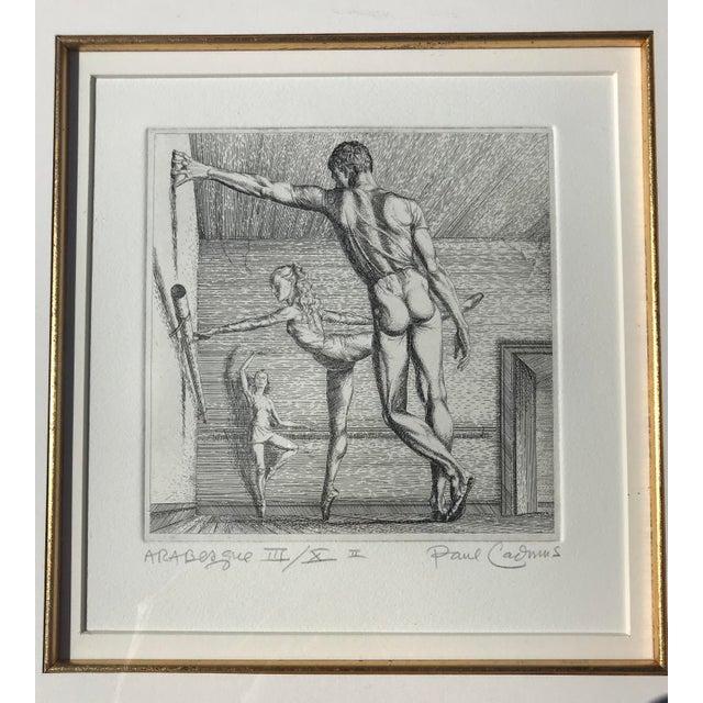 Paul Cadmus Arabesque Etching For Sale - Image 4 of 7