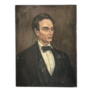 Portrait Painting of Abraham Lincoln 1959