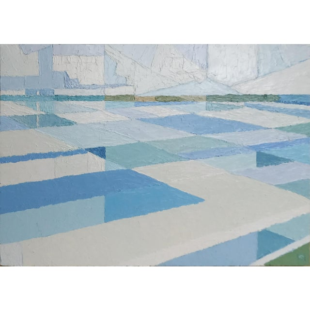 Contemporary Acrylic Painting by Andy Dobbie, the Inland Sea II For Sale - Image 9 of 9