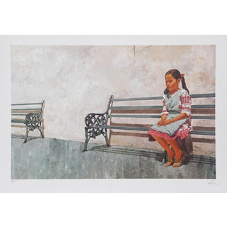 Vic Herman, Solitude but Not for Long, Lithograph For Sale