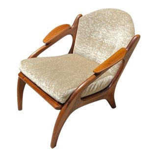 Adrian Pearsall Lounge Chair 2249-C by Craft Associates For Sale