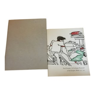 Red Grooms Catalog Raisonne & Book of Prints - Set of 2 For Sale