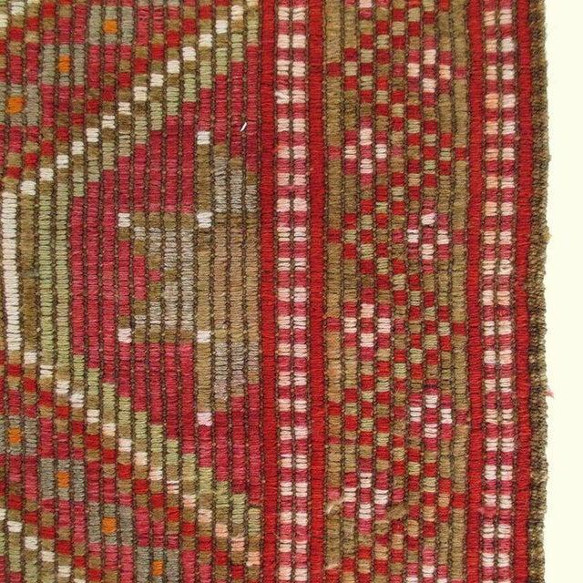 Red Turkish Kilim Flatweave - 6'2'' x 9'11'' - Image 4 of 5