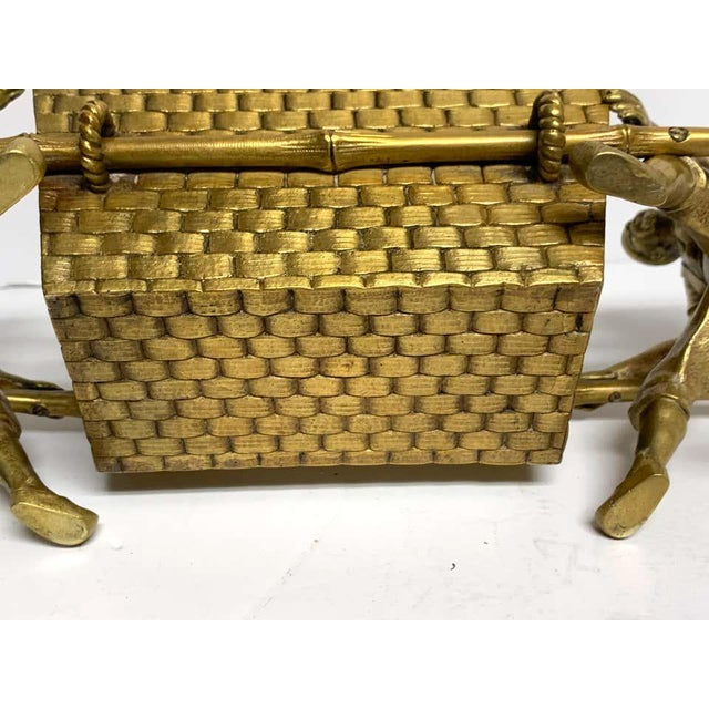 19th Century French Chinoiserie Ormolu Caddy For Sale - Image 10 of 13