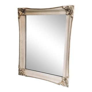 1970s Vintage French Gilded Framed Mirror For Sale