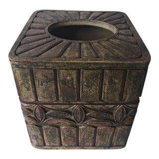 'Boho' Tissue Box Ceramic Cover