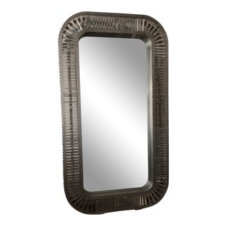 Art Deco Timothy Oulton Silver Floor Mirror