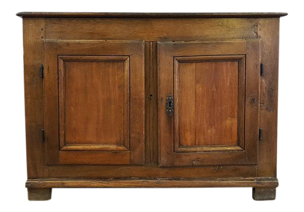 Merveilleux Antique French Oak Small Buffet Sideboard Credenza